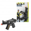 RENDŐRSÉG Racsnis fegyver MP5 rendőrség 31cm