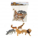 Wild Animals Deluxe in bag 5 pieces