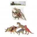 hurtownia Zabawki: Dinozaury Deluxe w torbie 5 sztuk