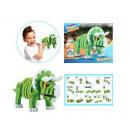 3D Foam Blocks Puzzel Constructiefoam Triceratops