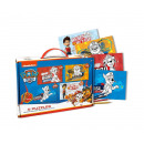 Paw Patrol Colour your own 4 Legpuzzels in koffer