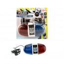 Police verlichting/geluid voor fiets exclusief bat