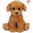 groothandel Speelgoed: TY Pluche Hond bruin met Glitter ogen Luke 24cm