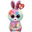 ingrosso Bambole e peluche: TY Bagclip peluche coniglio colorato con occhi gli