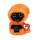 TY Pluche Spook Oranje met Glitter ogen Grinner 24