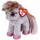 TY Plush Pony with Glitter eyes Cinnamon 15cm