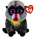 groothandel Speelgoed: TY Pluche Pavian met Glitter ogen Wasabi 15cm
