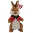 TY Peter Rabbit Peluche con occhi glitter Flopsy 1