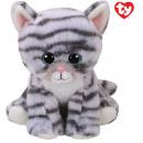 groothandel Speelgoed: TY Pluche Kat Grijs Millie 15cm