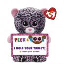 TY Pluche Tablethouder Luipaard met Glitter ogen T