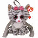 wholesale Toys: TY Plush Backpack Cat with Glitter eyes Kiki