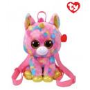wholesale Toys: TY Plush Backpack Unicorn with Glitter eyes Fantas
