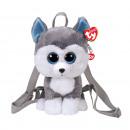 TY Plush Backpack Husky with Glitter eyes Slush