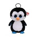 TY Pluche Rugzak Pinguin met Glitter ogen Waddles