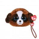 hurtownia Zabawki pluszowe & lalki: TY Plush Wallet Dog with Glitter eyes Duke 1