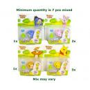 Großhandel Lizenzartikel: DisneyWinnie the Pooh Spinzals 4 sortiert 16x18cm