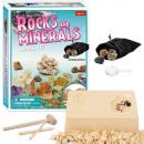 Rocks and Minerals Mining Kit 17.5 x 21 cm