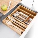 wholesale Houshold & Kitchen: Adjustable cutlery Bambus 29-43 cm.