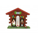 wholesale Gifts & Stationery: Magnet Weather house made of poly, 7 cm