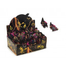 wholesale Decoration: Witch made of poly, flying, 15 cm