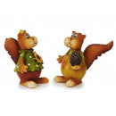 scoiattolo divertente di poli, 5 cm