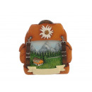 Magnet backpack made of poly with alpine design 7