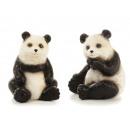 grossiste Jouets: Panda en céramique, 14x15x17cm