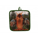 wholesale Household & Kitchen: Potholders -Wolpertinger Design 18 x 18 cm
