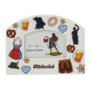 Picture frame 'Oktoberfest' in porcelain,