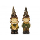 wholesale Figures & Sculptures: Pine cones made of poly, 27 cm