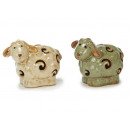 wholesale Figures & Sculptures:Porcelain sheep, 9 cm