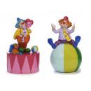 Großhandel Spardosen: Spardose Clown aus Poly, 17 cm