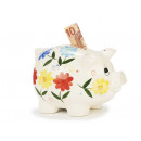 wholesale Saving Boxes: Porcelain piggy bank, 23 cm