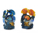 wholesale Gifts & Stationery: Fish from poly with glitter ball, 9 cm