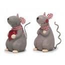 Maus aus Keramik, 11 cm