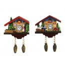 wholesale Magnets: Magnetic farmhouse made of poly, 7,5 cm
