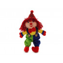 Plush clown, 14x8x30cm