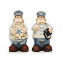 wholesale Figures & Sculptures: Captain of ceramic, 16 cm