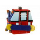 Gondola magnet made of poly, 6x1x5cm