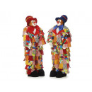 wholesale Costumes: Lappclown with poly head, 85 cm