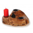 wholesale Candles & Candleholder: Candlestick made of cedar wood