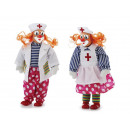 Clown medic from poly, 30 cm