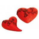 grossiste Maison et habitat: Coeur en céramique, 23 cm