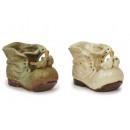 hurtownia Upominki & Artykuly papiernicze: Buty wykonane z ptaków porcelany, 16 cm
