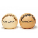 wholesale Garden & DIY store: Ball made of ceramic, 18 cm