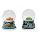 Snow globe made of poly, 6 cm