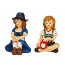 nagyker Ruha és kiegészítők:Jelmez lány poly, 8 cm