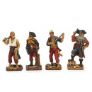 Pirate made of poly, 10 cm