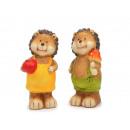 Hedgehog ceramic 5 x 5 x 12 cm