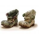 ingrosso Giardinaggio & Bricolage:porcellana scarpe, 13 cm
